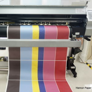 Low Weight 70g 80GSM Fast Dry Dye Sublimation Transfer Paper Roll Size pictures & photos