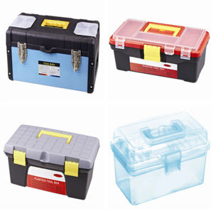 Manufactured Plastic Storage Box for Store Hand Tool pictures & photos