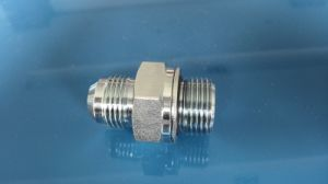 74 Cone Flared Tube Fitting/Bsp Male O-Ring pictures & photos