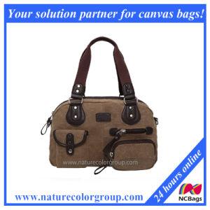 Latest Designer Women Canvas Handbag pictures & photos