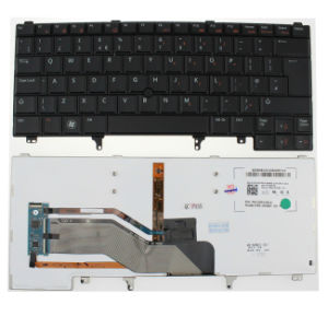 Wholesale Backlit Keyboard for DELL Latitude E6220/E6230/E6320/E6420/E6430 Laptops UK Keyboard pictures & photos