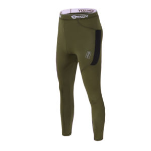 Green Color Thermal Mens Underwear Suits Esdy Underwear pictures & photos