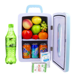 Electronic Mini Fridge 12liter DC12V, AC100-240V with Cooling and Warming for Car, Boat, Office or Home Use pictures & photos