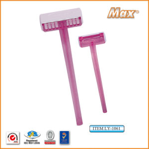 Single Stainless Steel Blade Disposable Shaving Razor for Foot (LS-1061) pictures & photos