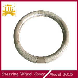 The Newest Design High Quality Genuine Leather Car Steering Wheel Cover