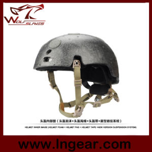 Tactical Helmet Suspension System with Airsoft Helmet Foam Pad pictures & photos