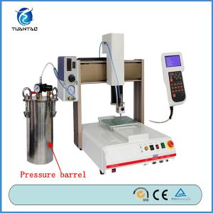 China 3 Axis Automatic Industrial Glue Dispenser for Bezel pictures & photos