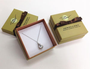 Square Pendant Packaging Lid Base Box (ST-024) pictures & photos
