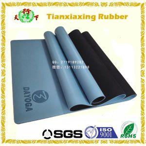 Customized Logo Anti Slip PU Leather Rubber Yoga Mat