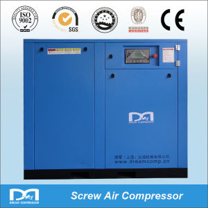 55kw 75kw Stationary Silent 8bar Screw Air Compressor pictures & photos