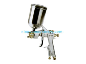 400ml Aluminum Cup Spray Gun (W-100G) pictures & photos