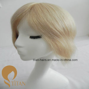 Light Color European Virgin Human Hair Toupee with French Lace pictures & photos