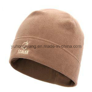 Customized Winter Warm Knitted Polar Fleece Hat/Cap pictures & photos