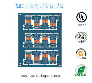 The Professional 4 Layer Flex-Rigid PCB Board for Medical pictures & photos