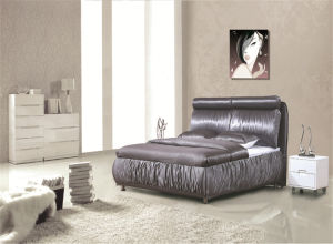 Bedroom Furniture Home Furniture Soft Bed pictures & photos