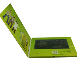 7inch Video Card; Video Brochure pictures & photos