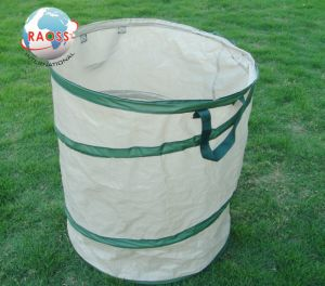 White Oxford Heavy Duty Folding Spiral Garden Waste Bag pictures & photos