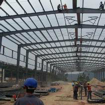 Steel Structure Sandwich Panel Prefabricated Building/Steel Warehouse pictures & photos