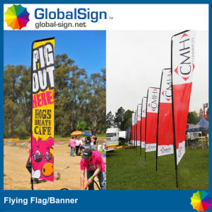 4.5m Swooper Flag, Polyester Flag for Promotion (Style B) pictures & photos