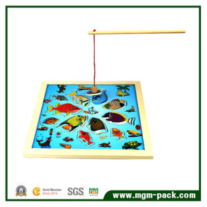Lovely Magnetic Fishing Montessori Wooden Toy pictures & photos