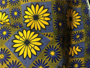 African Hollandaise New Design 100% Cotton Wholesale Ankara Fabric pictures & photos