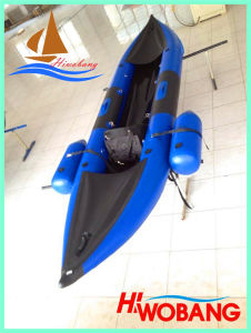 2015 New Inflatable Fishing Kayak, Whitewater Canoe pictures & photos