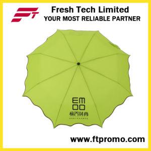 Manual Open 3-Section Folding Umbrella pictures & photos