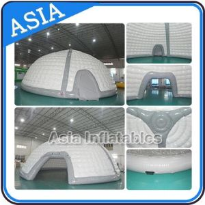 PVC Tarpaulin Air Blower up Durable Dome Tent Full Cover pictures & photos