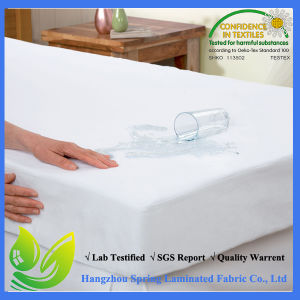 Newest Elite Natural 100% Tencel Waterproof Mattress Pad Cover pictures & photos