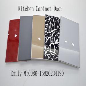 Wooden Door Kitchen Cabinet (ZHUV factory) pictures & photos
