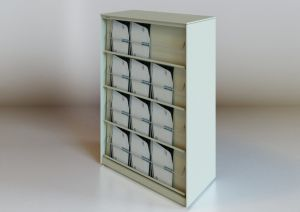 Metal Storage Open Magazine Cabinet pictures & photos