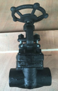 Forged Steel Screw End Globe Valve pictures & photos