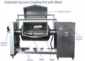 Industrial Vacuum Mixing Pot for Food Manufacture pictures & photos