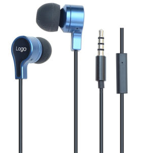 Customized Logo Stereo in-Ear Earphone for Mobile Phones (REP-822) pictures & photos