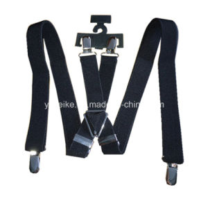 Adults X Shape Costomized Suspenders with Adjustable Clamp pictures & photos
