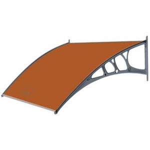 Manual Aluminum Type Polycarbonate Roof Sunshade Awning pictures & photos