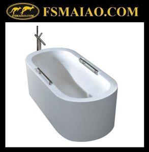 Handrailed Bathroom Freestanding Acrylic Bathtub (BA-8212) pictures & photos
