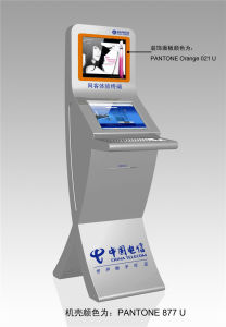 Dual Screen Payment Kiosk with Bill Acceptor pictures & photos