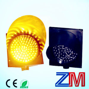 12 Inch High Luminance Solar Powered Traffic Warning Light pictures & photos