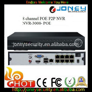 2015 New Poe NVR 8CH Poe Port, Support 2 HDD NVR 8 CH Poe pictures & photos