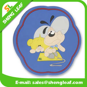 Householder Custom PVC Silicone Coaster Product Wholesale (SLF-RC011) pictures & photos