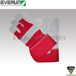 Work Gloves Safety Gloves Cheap Leather Gloves pictures & photos