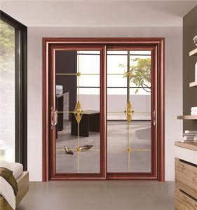New Design Aluminium Alloy Hollow Sliding Door For Living Room Balcony