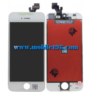 Replacement LCD Display with Touch Panel for iPhone 5 White pictures & photos