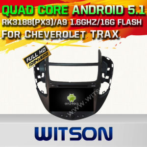 Witson Android 5.1 Car DVD GPS for Cheverolet Trax with Chipset 1080P 16g ROM WiFi 3G Internet DVR Support (A5532) pictures & photos