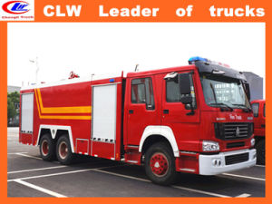 6*4 Sinotruk Steyr Fire Fighting Trucks pictures & photos