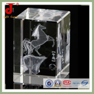 3D Laser Engraving Crystal Cube Sport pictures & photos