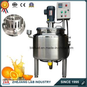 Stainless Steel Jacketed Mixing Tank Fruit Mixer Blender pictures & photos