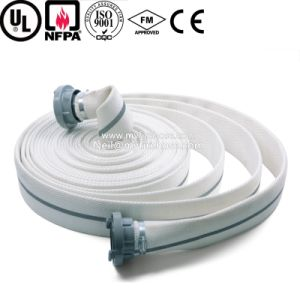6 Inch PVC Canvas Double Jacket Fire Hose Pipe Price pictures & photos