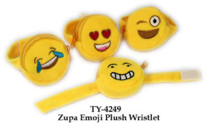 Funny Zupa Emoji Plush Wristlet Toy pictures & photos